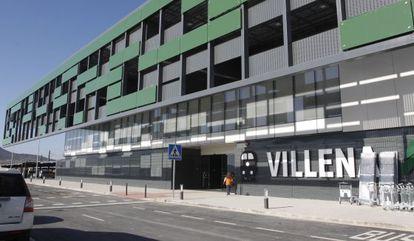 Estación del AVE en la localidad alicantina de Villena, inaugurada el pasado lunes por el Príncipe y el presidente Mariano Rajoy.