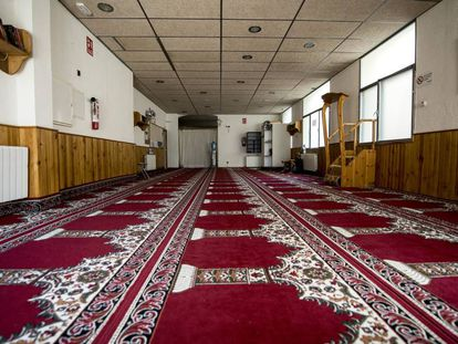 Interior de una mezquita.