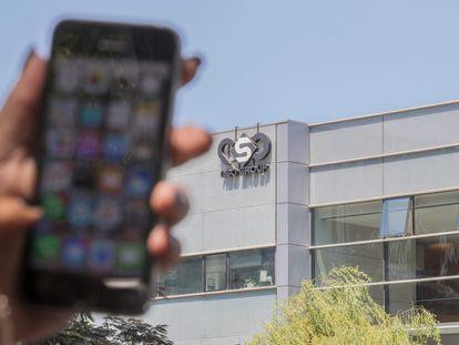 Sede de la empresa israelí que comercializa el programa Pegasus,  NSO Group, en Herzliya, cerca de Tel Aviv, en 2016.