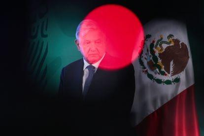 López Obrador, en el Palacio Nacional de México el pasado mes de mayo.