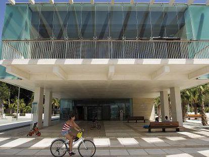 Nueva sede del Aula del Mar, en el Puerto de Málaga.