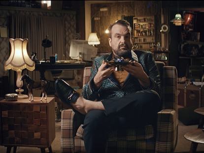 Nacho Vigalondo en la segunda temporada de 'Vigalondo Midnight Madness'.