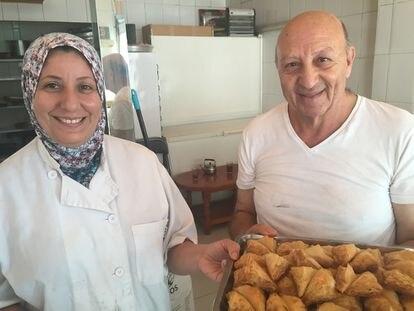 Fátima y Abdul, el goloso viaje del hojaldre