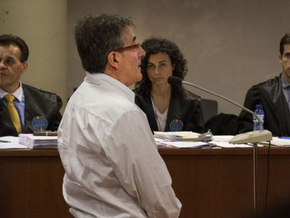 Jordi Ausàs declarar en la Audiencia Provincial de Lleida.