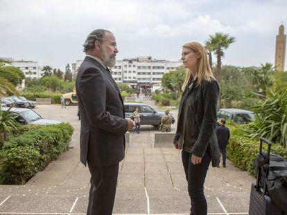 Mandy Patinkin y Claire Danes, en la octava temporada de 'Homeland'.