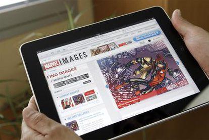 Tras su acuerdo con Apple, los cómics de la todopoderosa Marvel están disponibles en el iPad.