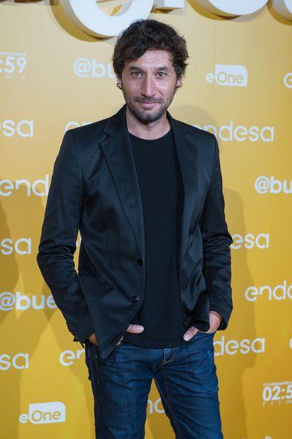 El actor Raúl Fernández, en Madrid en 2019.