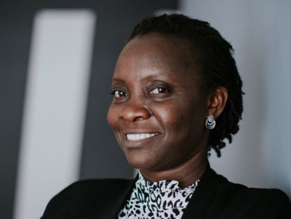 La ugandesa Victoria Nyanjura.