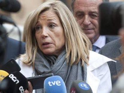 Joana Ortega, en una fotografía de archivo.