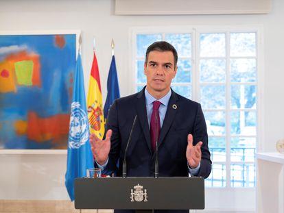 """El presidente del Gobierno, Pedro Sánchez, ha hecho este viernes una llamada a la unidad ante la Asamblea General de la ONU porque cree que sólo así es posible adoptar medidas para """"salvar el planeta"""" en un momento en el que la pandemia del coronavirus se ha sumado a otros desafíos."""