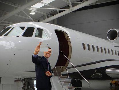 A pesar de lo corta que ha sido esta legislatura, Sánchez le ha cogido un gran cariño a su avión presidencial.