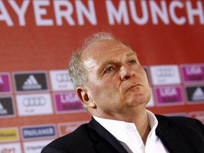 Ulli Hoeness, presidente del Bayern Múnich.