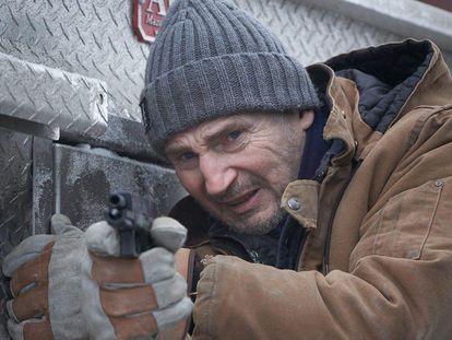 Liam Neeson en 'Ice road'.