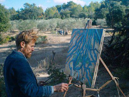 Willem Dafoe, en 'Van Gogh, a las puertas de la eternidad'. En vídeo, la crítica de Boyero.