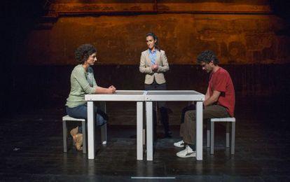 La obra 'La mirada del otro' abordó recientemente los encuentros entre víctimas de ETA y terroristas.