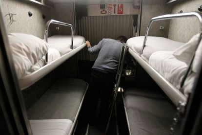 Uno de los tramos baratos del tren nocturno que hizo el recorrido entre Madrid y Santiago de Compostela, en 2015.