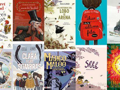 Cómics, cuentos y novelas para regalar esta Navidad a niños y adolescentes.