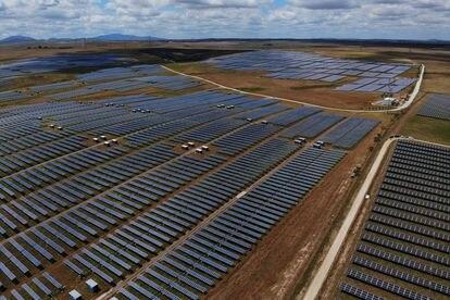 Planta fotovoltaica en Trujillo, Cáceres.