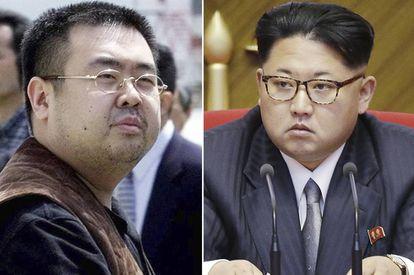 El asesinado Kim Jong-nam, a la izquierda, y su hermanastro, actual líder de Corea del Norte, Kim Jong-un.