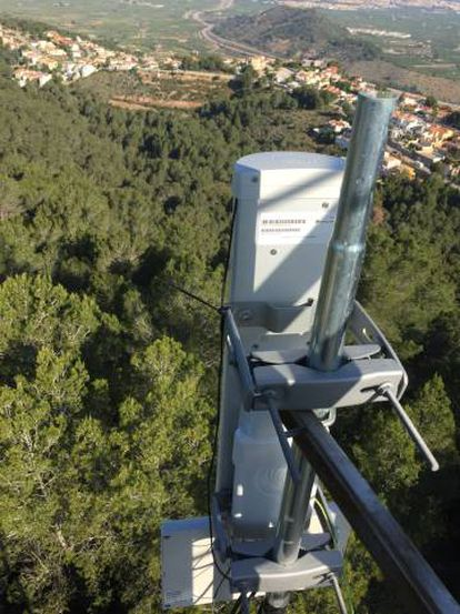 Solución técnica para llevar Internet a zonas rurales.