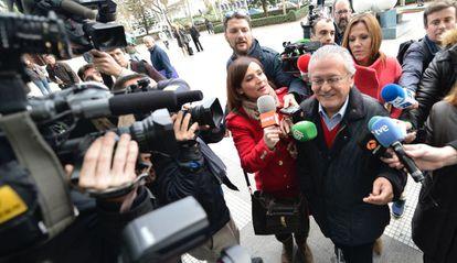 Silvestre Senent, exconcejal del PP del Ayuntamiento de Valencia, llega a declarar.
