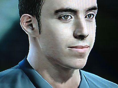 El jugador virtual Eduardo Morillo