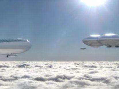 La idea de la misión HAVOC es usar la densa atmósfera del planeta como base para la exploración