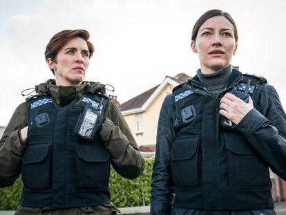 Una imagen de la sexta temporada de 'Line of Duty'.