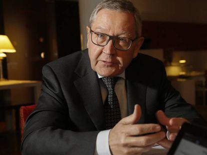 Klaus Regling, director del Mecanismo Europeo de Estabilidad.