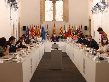 Conferencia de Presidentes Autonómicos celebrada en Salamanca.