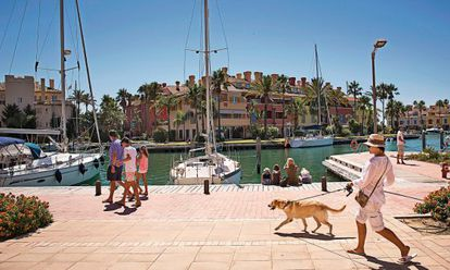 Puerto de Sotogrande, Cádiz.