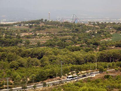 Los terrenos donde está previsto que se instale BCN World en Vila Seca.