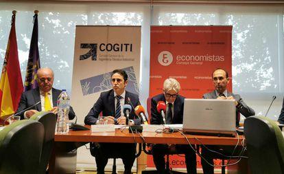 Presentación del Barómetro Industrial 2019 del Cogiti.