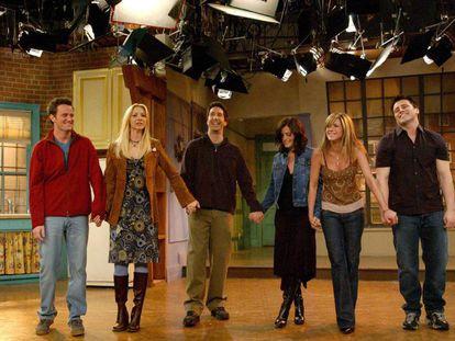 El reparto de 'Friends' se despide del público tras rodar el último capítulo de la serie. En vídeo, tráiler con mejores momentos de la primera temporada de la serie.