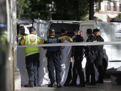 El suceso ha ocurrido en Madrid, en la calle Hermanos Bécquer número 4