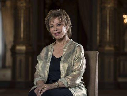 Isabel Allende, en la Casa de América de Madrid el pasado 29 de mayo.