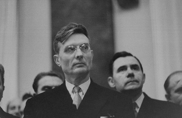 Mijaíl Suslov en 1958
