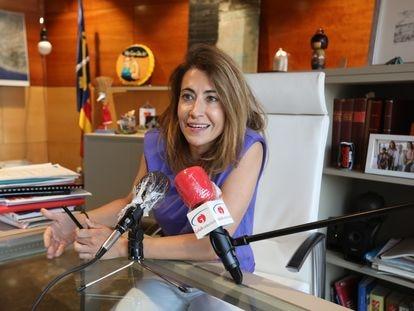 Raquel Sánchez Jiménez, alcaldesa de Gavà.