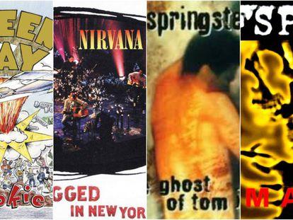 Green Day, Nirvana, Bruce Springsteen y Offspring. El paso del tiempo es una apisonadora para algunos discos.