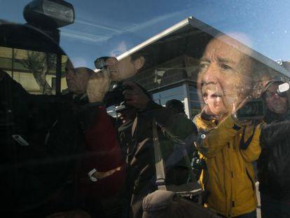 Núñez sale de la cárcel de Quatre Camins el pasado diciembre.