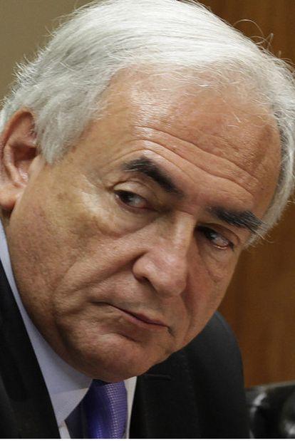El director gerente del FMI, Dominique Strauss-Khan.