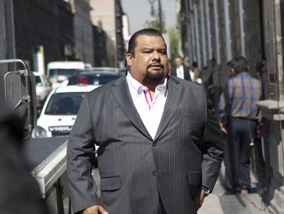 Cuauhtémoc Gutiérrez de la Torre, en Ciudad de México en abril de 2013.