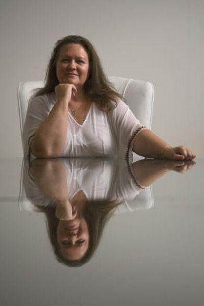 La australiana Gina Rinehart, propietaria de la empresa minera Hancock Prospecting, fotografiada en Perth, en 2009.