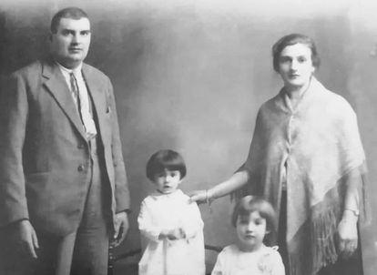 Familia Alomar, represaliada por el franquismo.