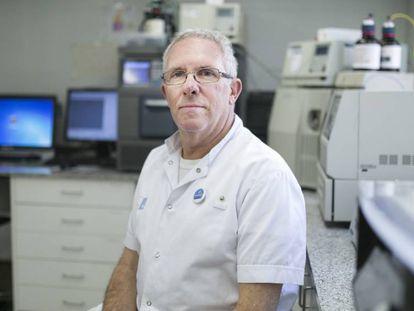 El jefe de medicina interna e infecciosas del hospital del Mar, Hernando Knobel.