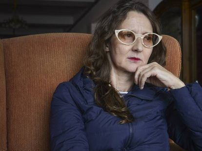 La cineasta argentina Lucrecia Martel, en Mar del Plata.