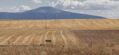 Campos en el término municipal de Fresno de Cantespino, al nordeste de Segovia.