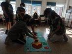 Dvd 24/6/21Imágenes de clases con niveles distintos agrupados en el Colegio Filósofo Séneca en el distrito de Hortaleza. KIKE PARA.