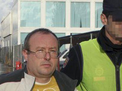 El etarra Carasatorre, en una foto facilitada por el Ministerio del Interior.