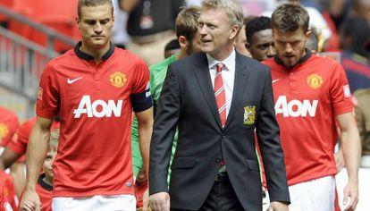 Moyes lidera al United en la Supercopa inglesa